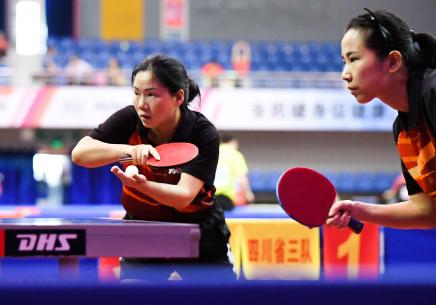 2017年全国业余乒乓球锦标赛在江西新余开赛