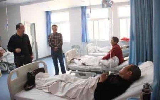 """修武县五里源乡:贫困群众住院看病""""不花钱"""""""