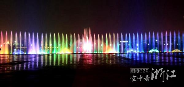 城南公园音乐喷泉