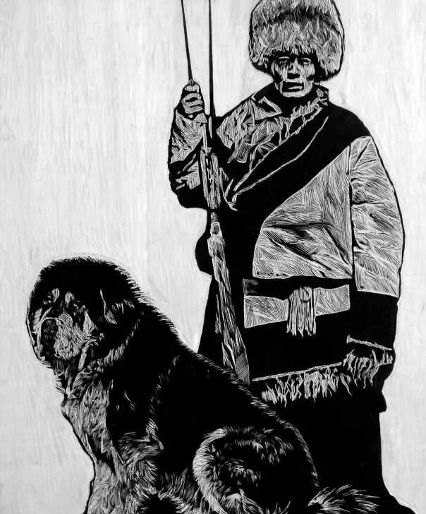 刀刀入心!黑白光影里的西藏