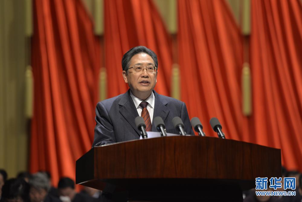 李锦斌代表九届省委作报告