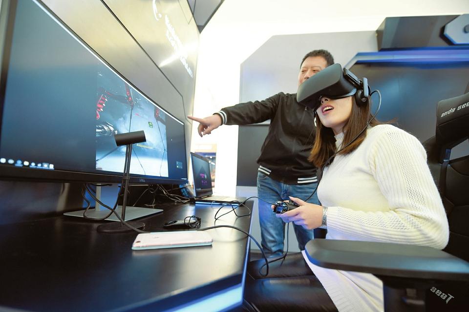 VR太空舱空降太原