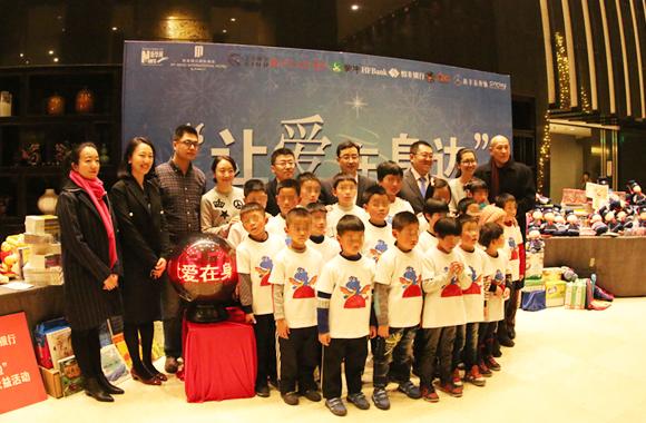 陕西回归儿童救助中心20名小朋友提前过圣诞
