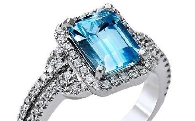 彩色宝石戒指的爱情物语