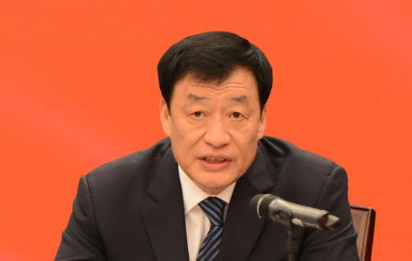 鹿心社刘奇会见中国银监会主席尚福林