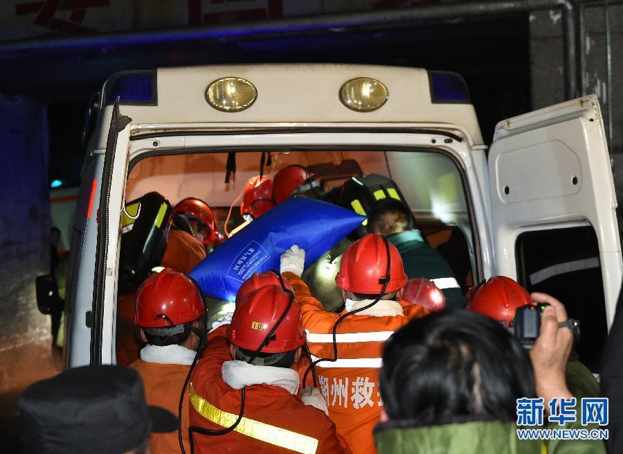 【现场直击】中煤担水沟煤业冒顶事故1人获救9人遇难