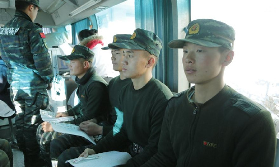 武警海北州支队特战官兵积极为驻地无偿献血迎新春