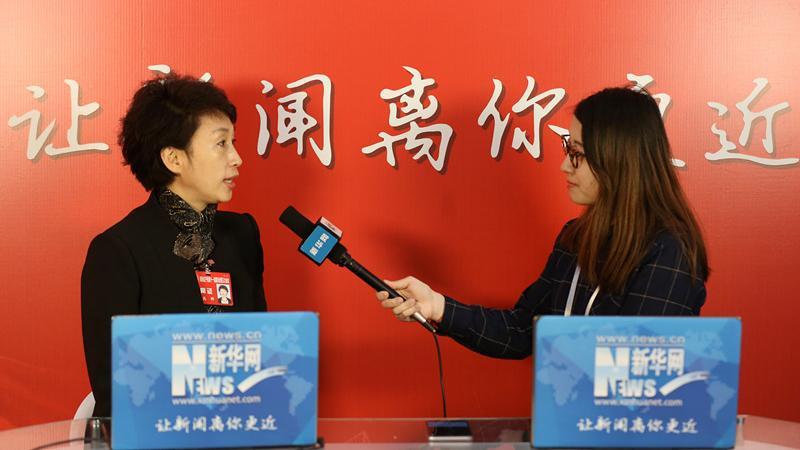 辽宁省政协委员高群接受新华网专访