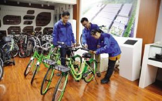 单车引爆行业狂欢 津产自行车重现飞鸽辉煌景象