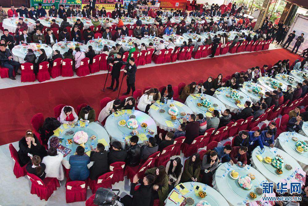 河南鲁山:举办 爱情节 为在外务工大龄青年脱单