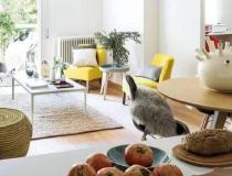 让客厅充满生机随意摆放的家具更显生活气息