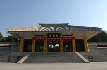 黄帝陵标识碑在黄陵落成 公祭黄帝活动拉开帷幕