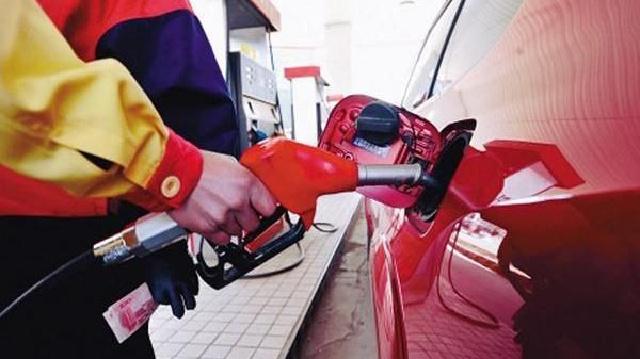 沈陽92號汽油每升降0.18元