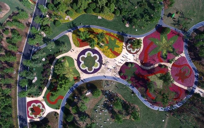 满园春色游人醉 滁州花博园正式开园