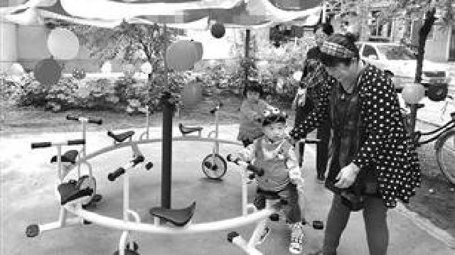 """沈阳:居民""""一元捐""""建成儿童乐园"""