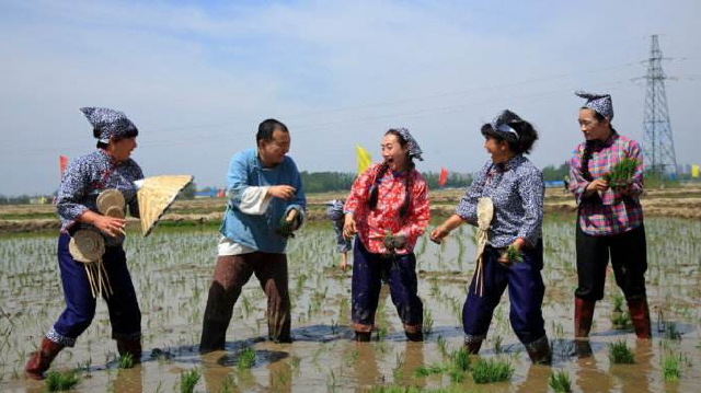 大型情景展示《印象遼河口》再現遼寧盤錦古老民俗