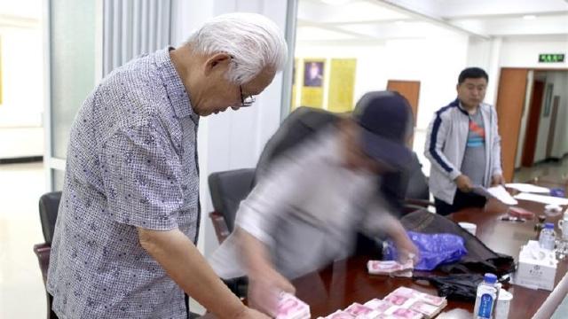大连:85岁老人捐款10万元不张扬不留名