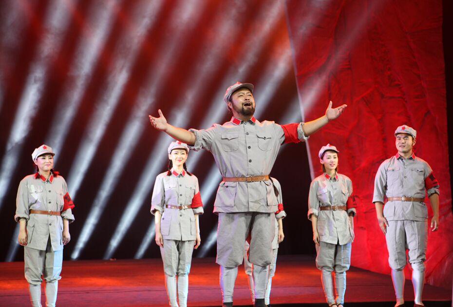 合肥举行纪念中国共产党成立95周年文艺晚会