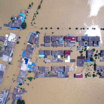安徽特大洪涝灾害现场特辑