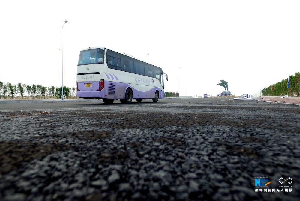航拍:漳州双鱼岛 感受大型离岸人工岛露营热