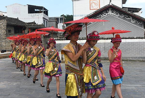 罗城:文旅融合推进旅游业发展