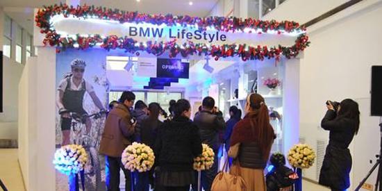 西安首家BMW Lifestyle 荣宝宝马店中店开业