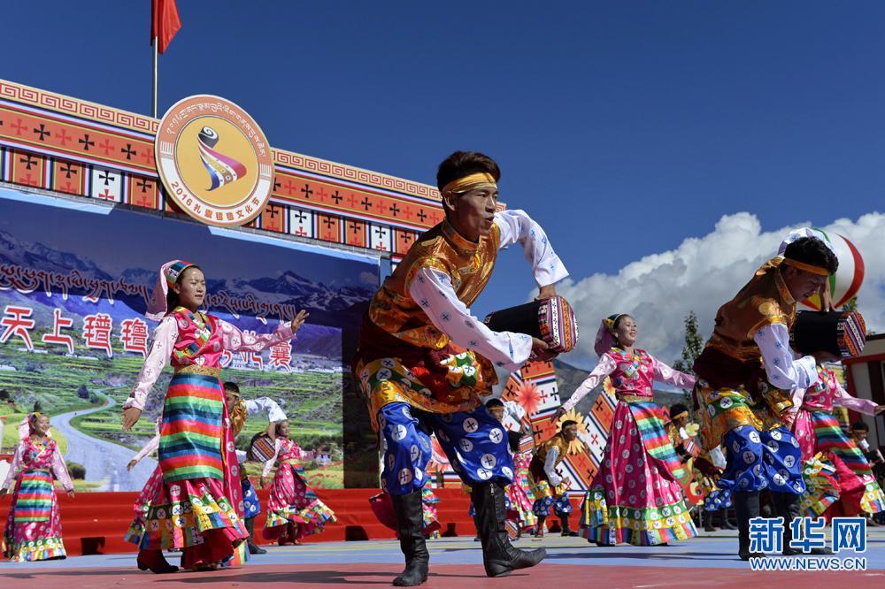 西藏山南:2016扎囊氆氇文化节开幕