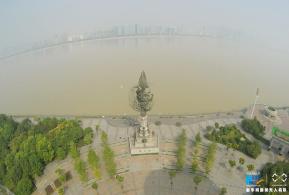 航拍杭州《钱江龙》