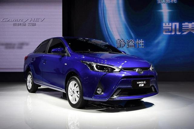 ARiS L 致享与一汽丰田的三厢小型车威驰基本一致,新车的前脸设计高清图片
