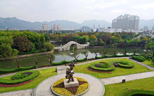 温岭:生态公园 景色宜人