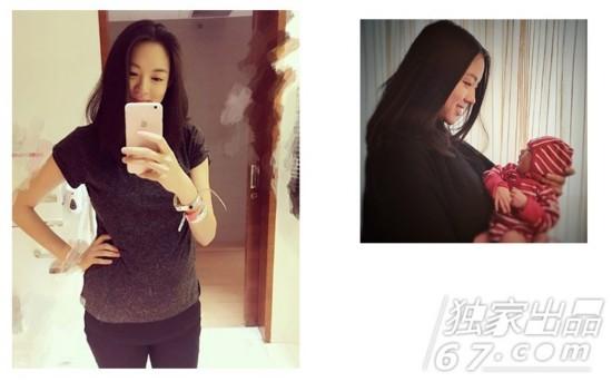 陈妍希昆凌章子怡 这些辣妈生完宝宝又美回18岁