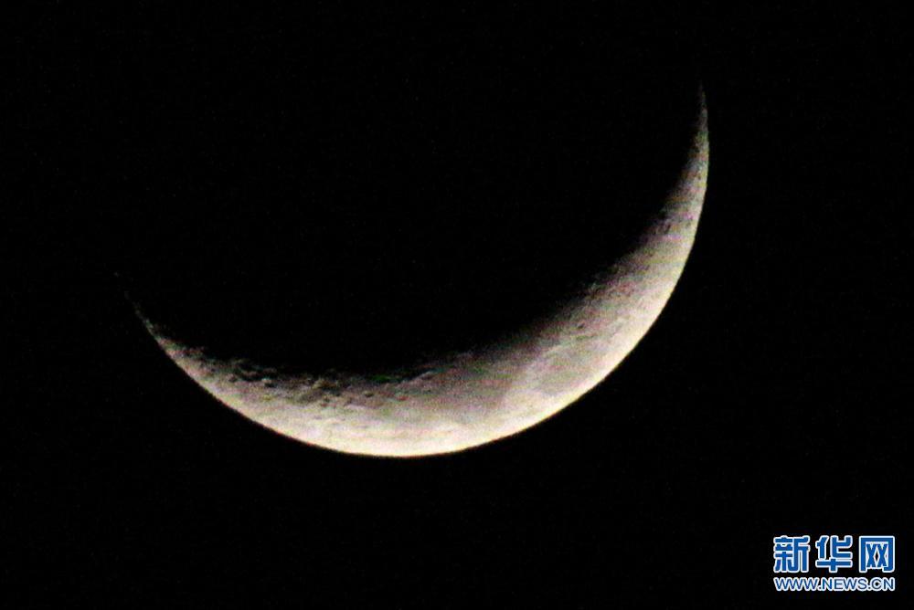 """合肥现""""金星合月""""美丽天象"""