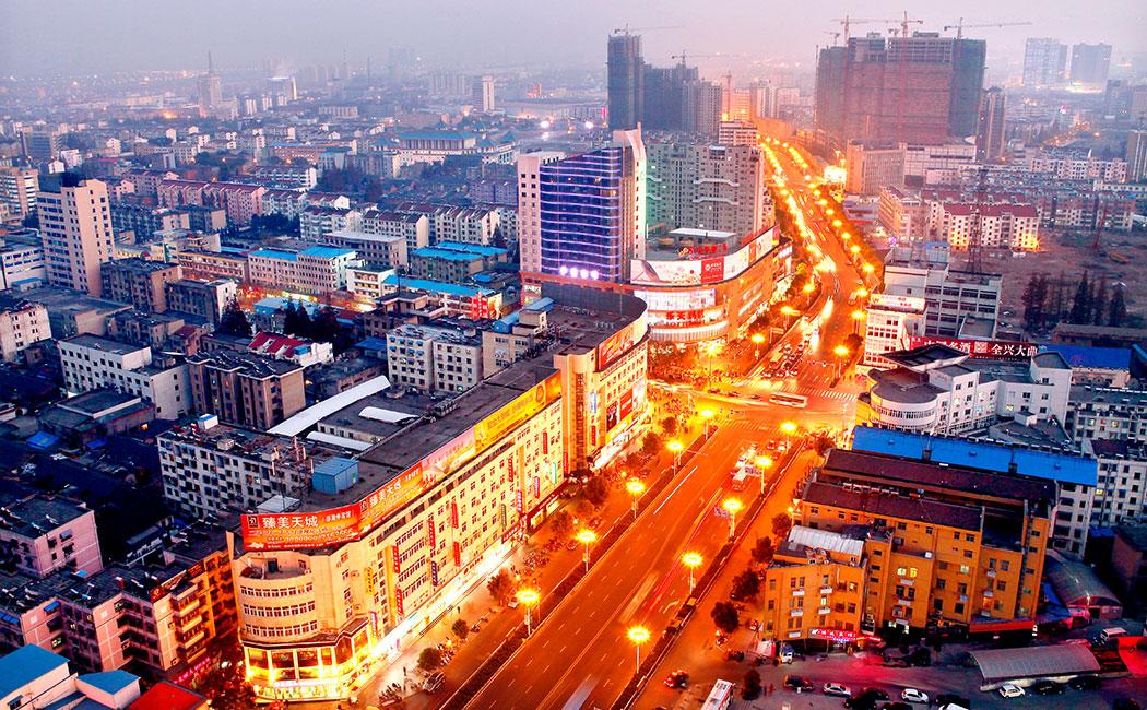  滁州城夜景