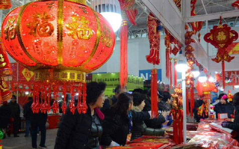 天津:年货市场开幕