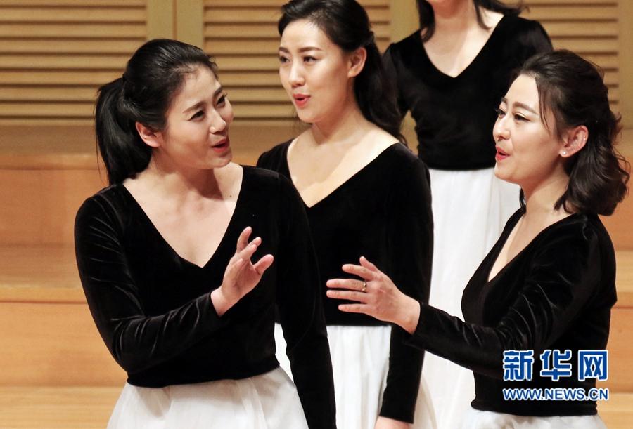 河南省教育厅教师合唱团新春音乐会在郑州举办