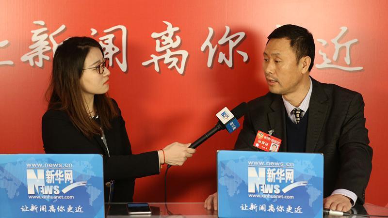 辽宁省政协委员、省足球运动协会副主席宋铁军接受新华网专访