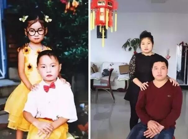 """他们5岁拍""""婚纱照"""",19年后成了真夫妻!"""