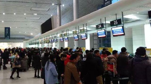大连机场航班起降架次和旅客吞吐量创春运新高