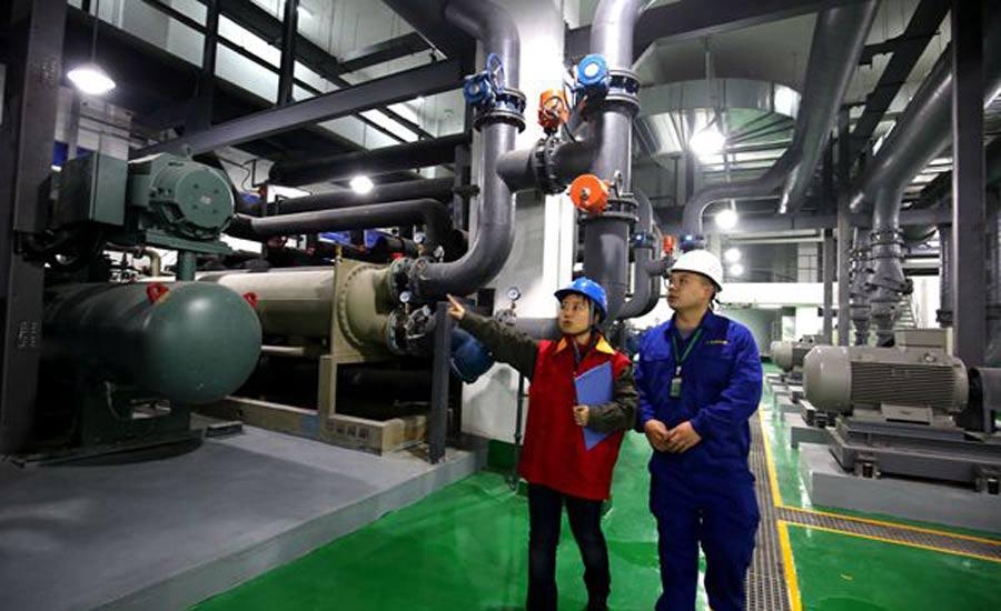 安徽首个区域能源系统通过验收