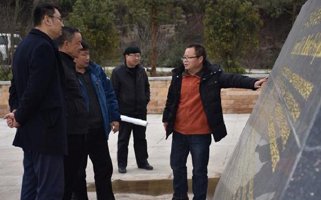 李刚到罗平县国土局调研指导工作