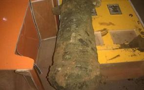 南昌一工地发现清朝古炮 保存比较完好