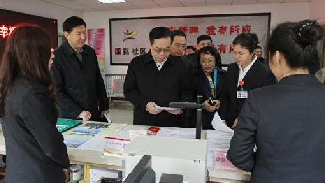 韩东太到于洪区调研指导幸福沈阳共同缔造工作