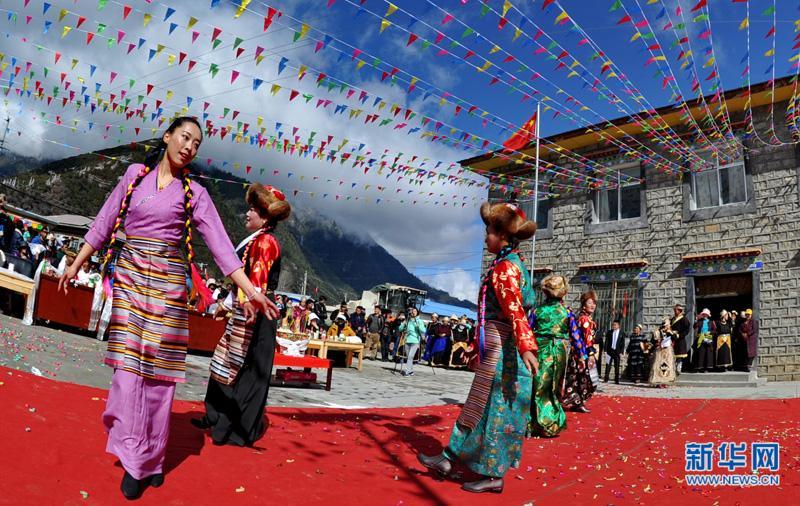 西藏林芝:庆祝百万农奴解放纪念日