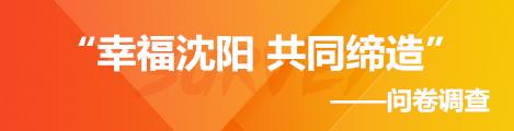 """""""幸福沈阳 共同缔造""""问卷调查"""