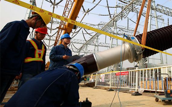 合肥供电公司:合肥电网年度工程加速建设