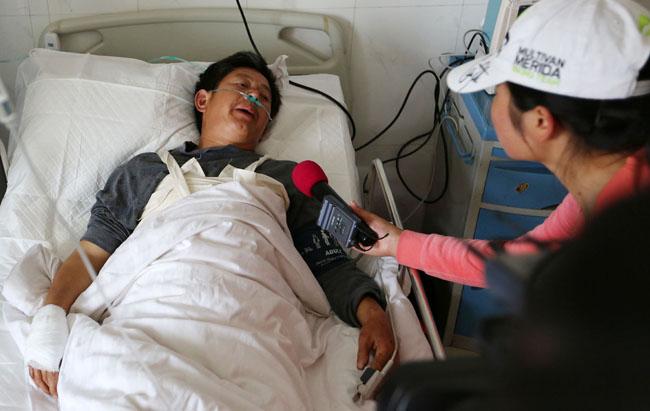 安徽黄山发生一车辆坠塘交通事故 造成7人死亡