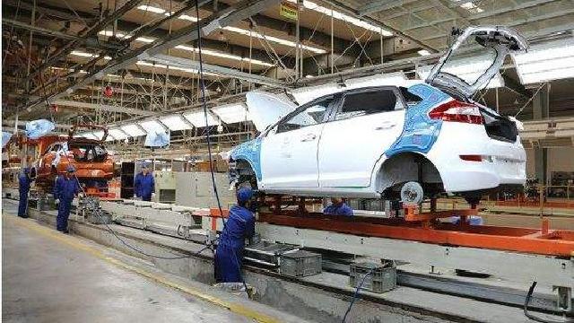 沈陽汽車城前4月生產整車19.5萬輛