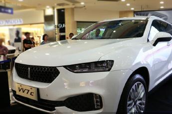 长城WEY品牌亮相西安 高端中型SUV 16.78万起售
