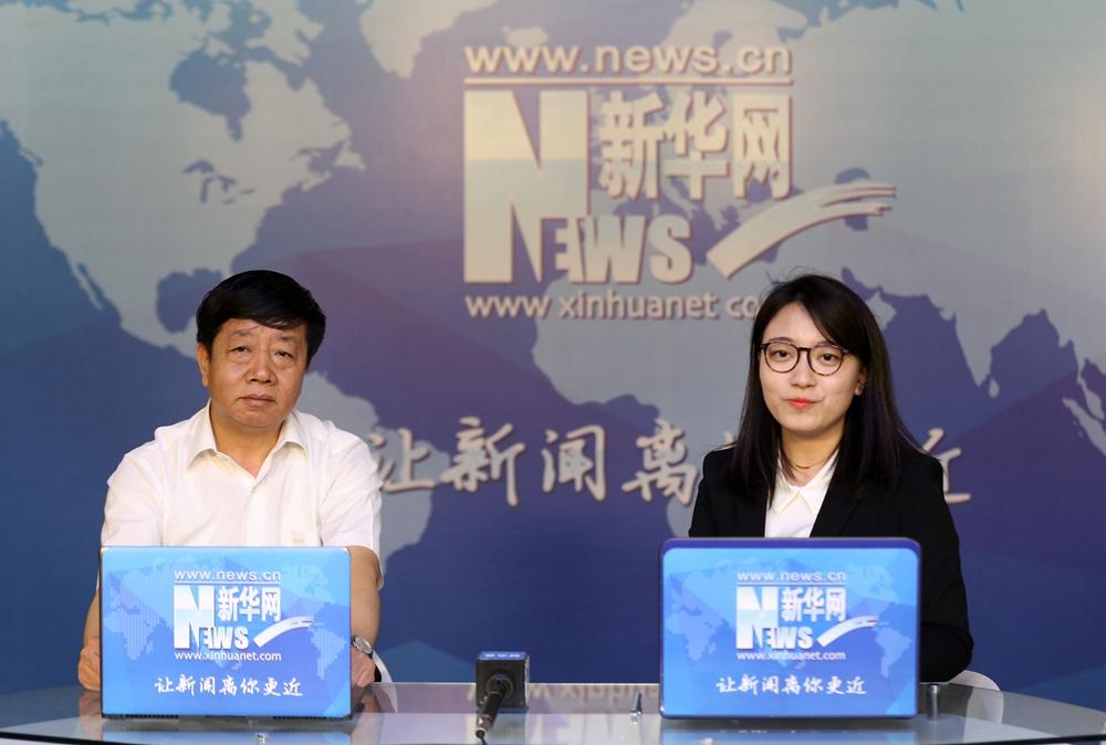 遼寧省交通廳黨組成員、副廳長朱紅走進新華訪談間