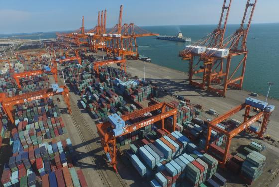 北部湾港上半年集装箱吞吐量大幅增长